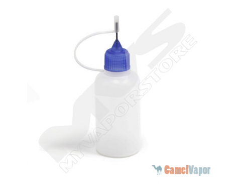Empty Plastic Bottle with Needle Top - 30ml