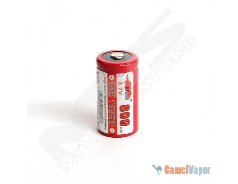 Efest IMR 18350 LiMn 800mAh Battery - Button Top
