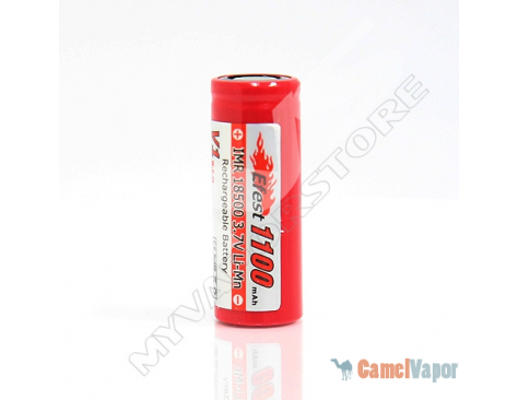 Efest IMR 18500 LiMn 1100mAh Battery - Flat Top
