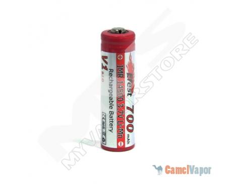 Efest IMR 14500 LiMn 700mAh Battery - Button Top